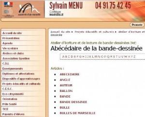 Collège Sylvain Menu