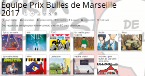 La collection Bulles de Marseille 2017