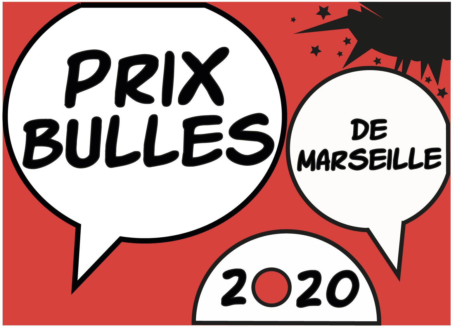 Le logo du Prix Bulles 2020